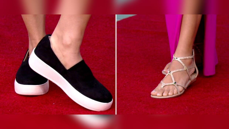 Alternativas para usar zapatos planos creando looks frescos y elegantes