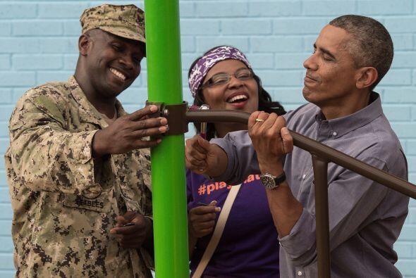 Sin duda, una fecha muy especial y difícil, pero los Obama dieron...