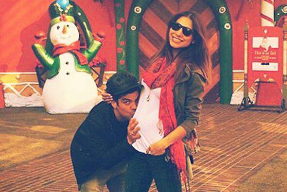 Ale Espinoza sin duda vive su mejor Navidad.