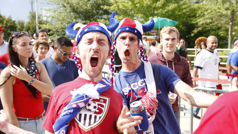Atlanta vivió la fiesta de Copa Oro 2015