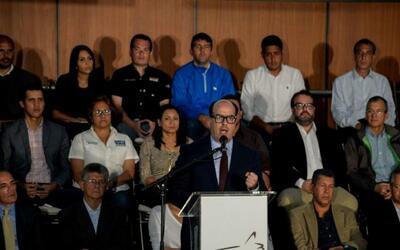 Oposición venezolana llama a desobedecer al gobierno de Maduro