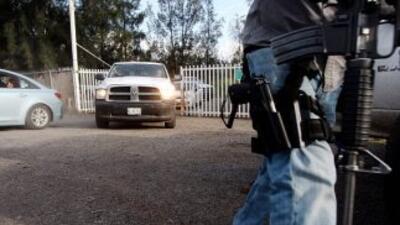 Enfrentamiento en Tanhuato, Michoacán.