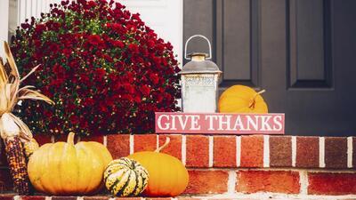 Ideas para decorar tu hogar en este Día de Acción de Gracias