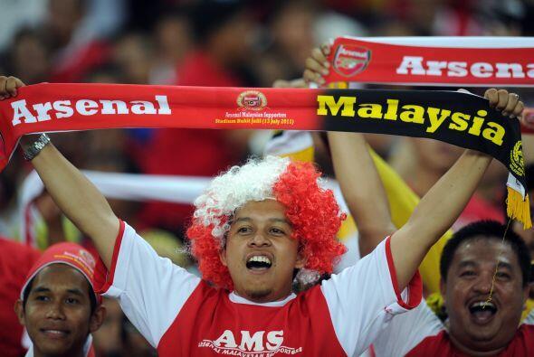Los 'Gunners' tienen seguidores en todo el mundo.