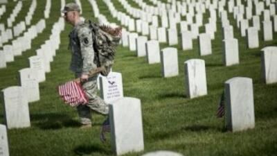 El Pentágono señaló que 1577 perdieron la vida en operaciones de combate...