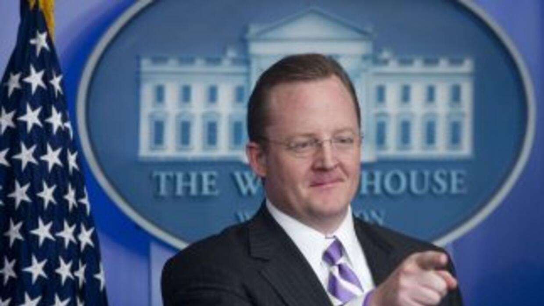 Robert Gibbs anunció su alejamiento como vocero de la Casa Blanca.