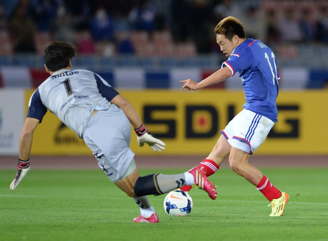 Arquero y capitán, arma clave del Jeonbuk en el Mundial de Clubes GettyI...