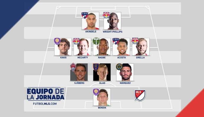 Equipo de la Jornada 12 de la MLS