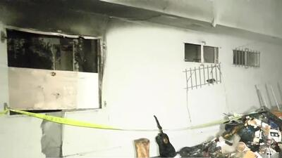 'Los Ángeles en un Minuto': Al menos tres personas desplazadas por incendio en un complejo habitacional