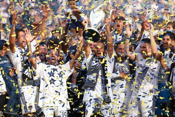 Los Angeles Galaxy lograron su quinto título en la MLS, luego de vencer...