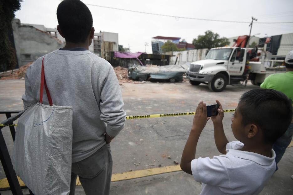 México un día después del terremoto