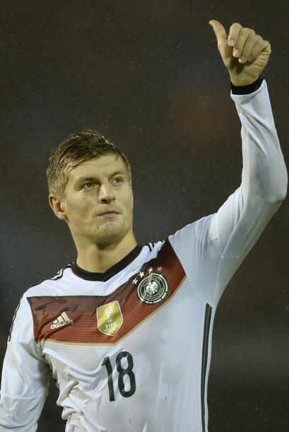 Toni Kroos.- Talentosísimo mediocampista alemán que ganó el Mundial de B...