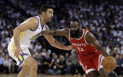 Harden anotó 27 puntos en la victoria de los Rockets.