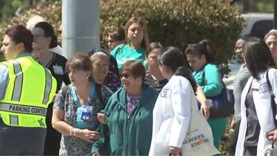 Caos y pánico tras reportes de un tiroteo en un hospital Kaiser de Los Ángeles
