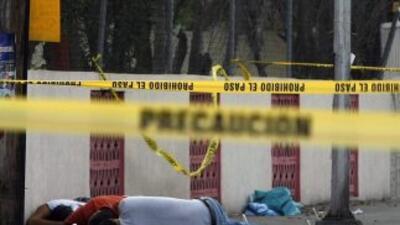 La violencia que generan las organizaciones criminales de México ha caus...