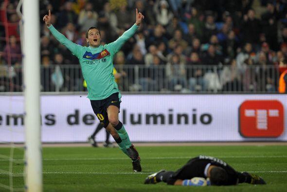 El último fichaje del Barcelona se presentó con gol.