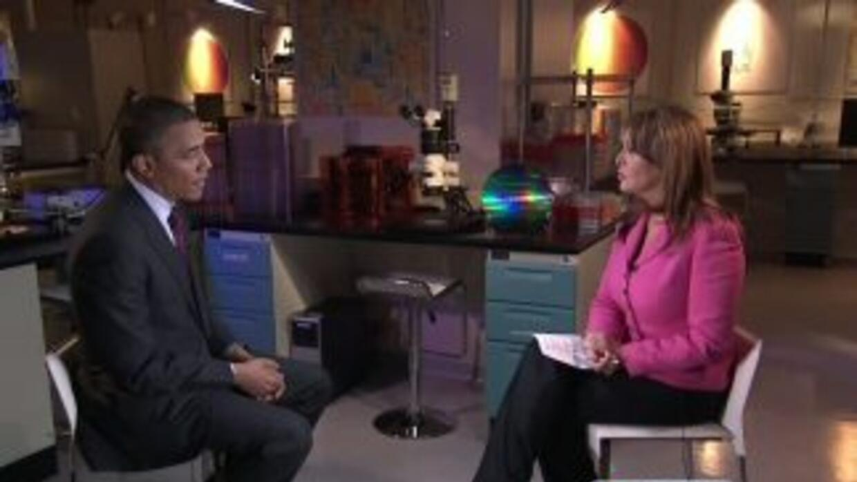 Maria Elena Salinas interviews President Barack Obama (complete interview)