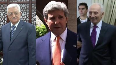 John Kerry ayuda a mediar la paz entre Israel y Palestina