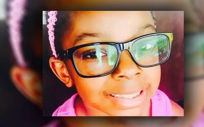 Sanaa Cunningham, de 7 años, murió en febrero de 2017, des...
