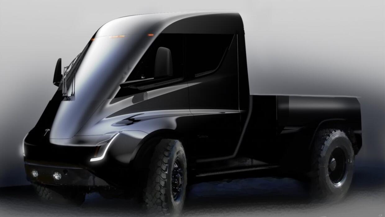 Boceto de la Pickup Tesla.