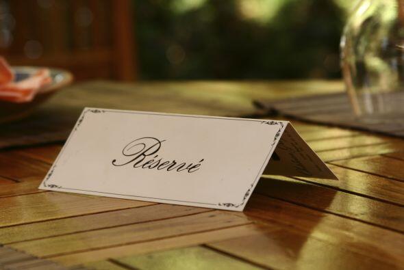 Que no haya hecho reservación:  Llegar al restaurante más exclusivo sólo...