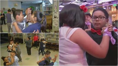 Pasos de baile con mensaje, el programa que ayuda a niños de bajos recursos a mejorar en la escuela