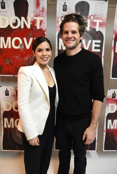 La actriz estuvo junto a su amorcito, Ryan Piers Williams, en Manhattan.