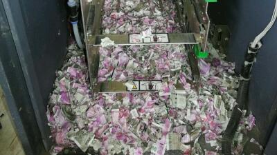 Fuera de servicio: una rata se come casi 20,000 dólares de un ATM
