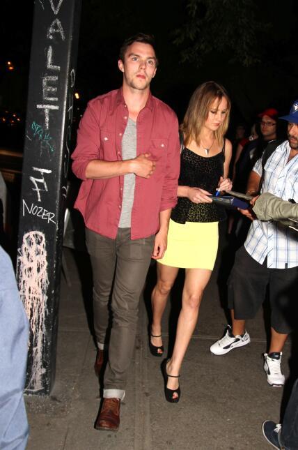 Jennifer Lawrence y Nicholas
