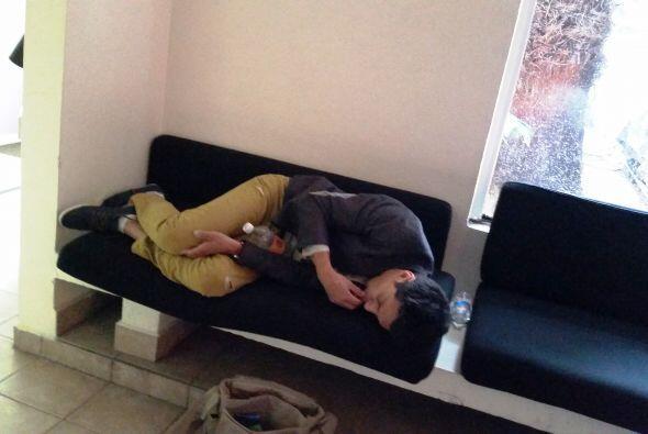 Una siesta antes de cantar. #fun #sleep