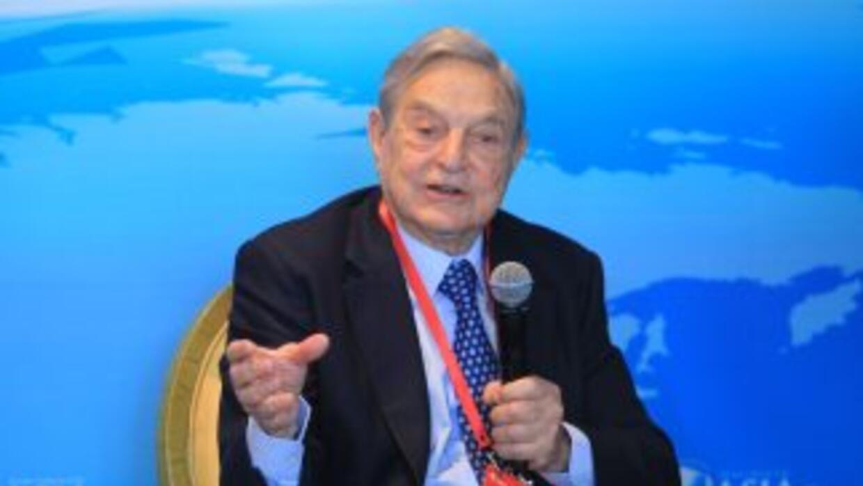 El multimillonario estadounidense de origen húngaro, George Soros.