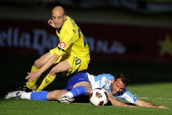 En otro encuentro del día, el Villarreal recibió al Málaga.