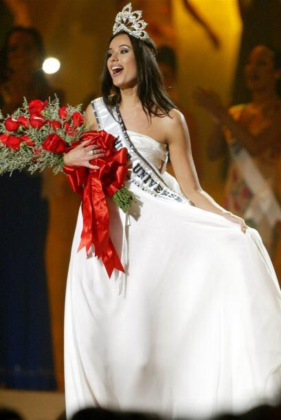 Oxana Fedorova se coronó como Miss Universo en 2002. Sin embargo, a la r...