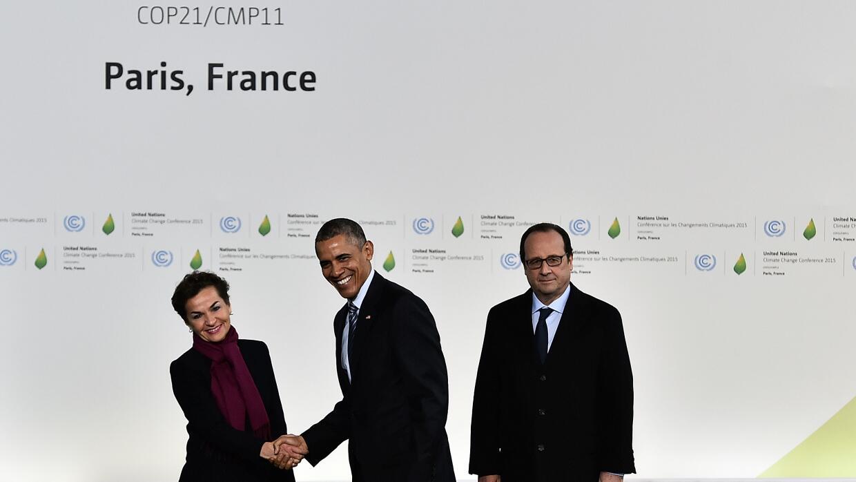 """COP21: """"De aquí a 2020 vamos a tener un mundo muy diferente"""" GettyImages..."""