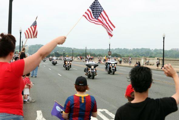 La concentración de motociclistas conocida como Rolling Thunder comenzó...