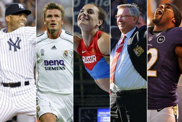 En este 2013 muchos grandes atletas tomaron la decisión de retirarse de...