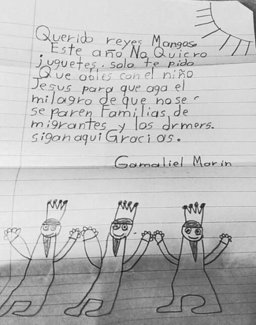Gamaliel Marín escribió que prefería tener una familia unida a recibir r...