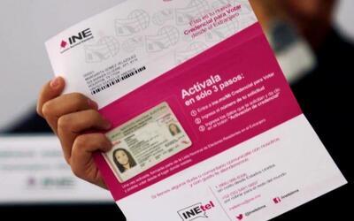 La credencial de elector a mexicanos en el extranjero debe ser activada...