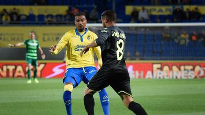Villarreal de 'Jona' Dos Santos cayó en Gran Canaria con Las Palmas