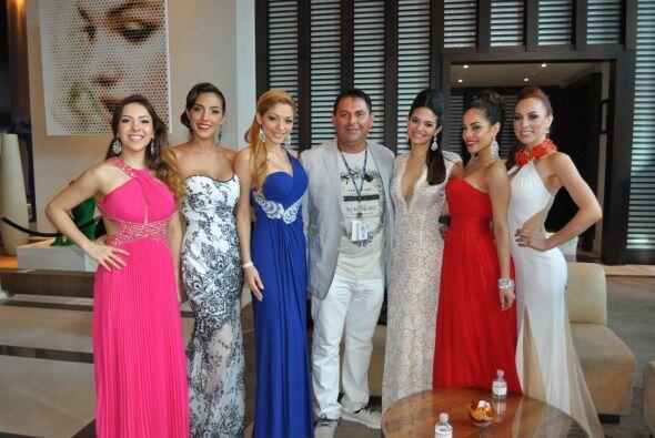 Aly, Gabriela, Josephine, Alina, Yesenia y Prissila fueron invitadas VIP.