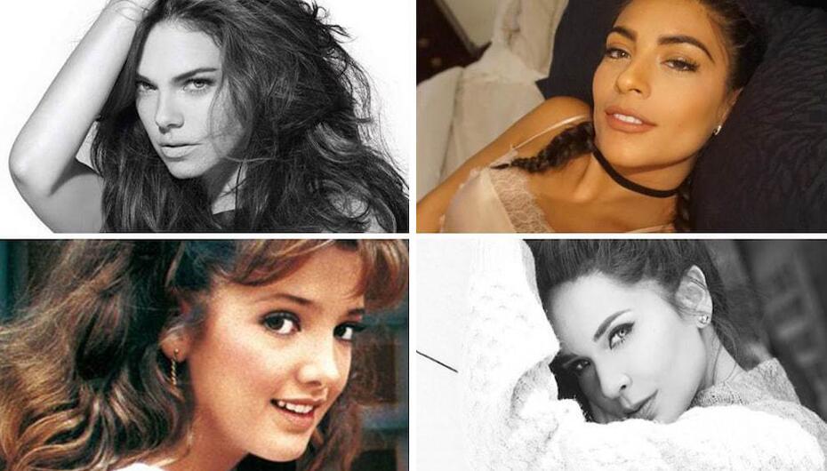 Son actrices de telenovela bellas y naturales