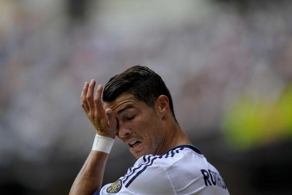 No pasó a mayores, pero hombres como Cristiano Ronaldo estaban quedando...