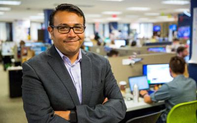 Jorge Silva, director nacional de medios hispanos