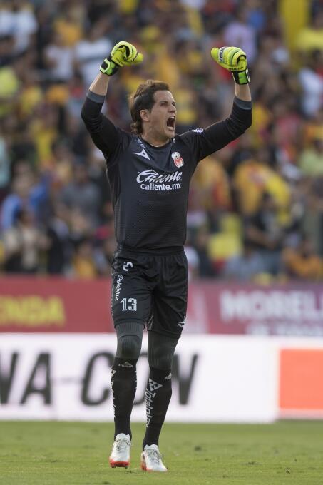 Juegazo y feria de goles entre Morelia y Tigres carlos-sebastian-sosa-ce...