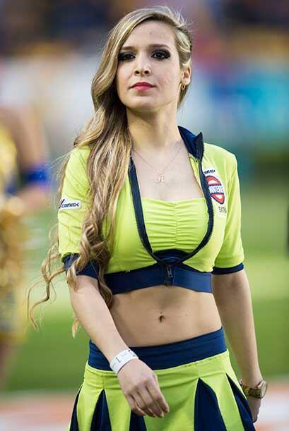 Vota por las porristas del Tigres vs. Cruz Azul que fueron parte de la m...