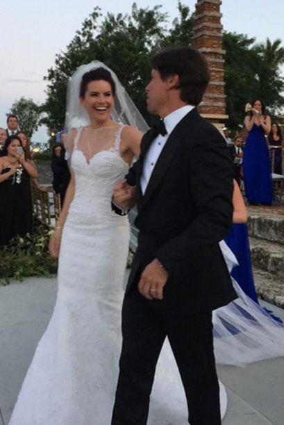 Raúl de Molina compartió estas lindas imágenes durante la boda.