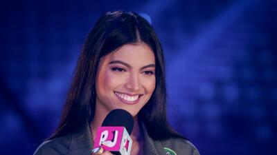 Mira cómo Chiqui Delgado anima a su hija Marielena antes de que debute como 'host' de PJ