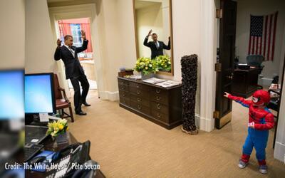 Visitantes de honor: las mejores fotos de Obama con los niños