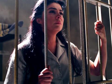 """""""María"""", su personaje, era condenada por un crimen que..."""