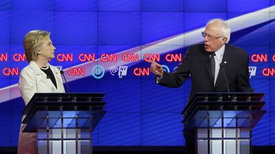 Debate demócrata en Brooklyn